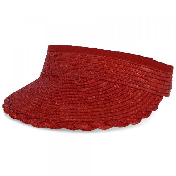 Schirm aus Strohborte Rot - Bild 1