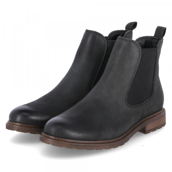 Chelsea Boots Schwarz - Bild 1