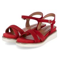 Sandalette Rot