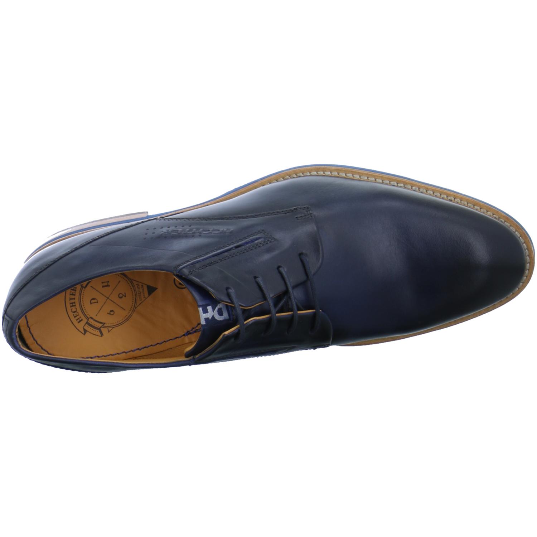 Daniel Hechter Herren Herren Herren Schuhe Halbschuhe Schnürer Blau elegant Business Renzo 353ca0