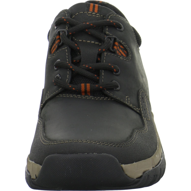 Clarks Herren Schuhe Schuhe Schuhe Walbeck Edge Halbschuhe Schwarz Schnürer abb59e