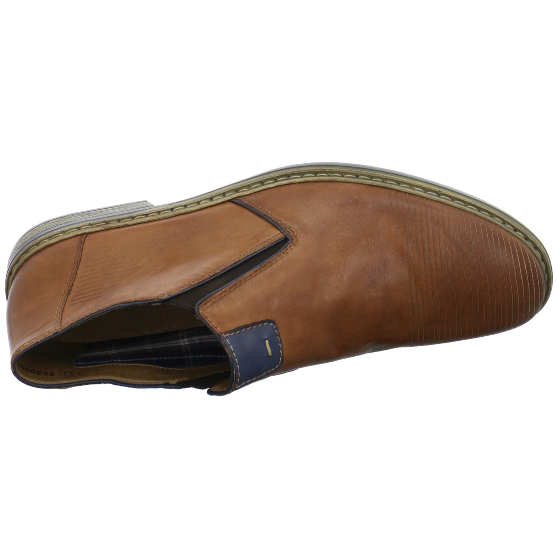 rieker herren halbschuhe slipper leder braun 13451 24 ebay. Black Bedroom Furniture Sets. Home Design Ideas