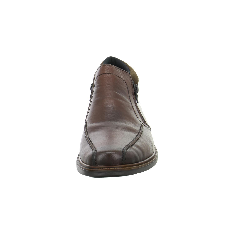 rieker herren halbschuhe slipper leder braun 14382 25 ebay. Black Bedroom Furniture Sets. Home Design Ideas