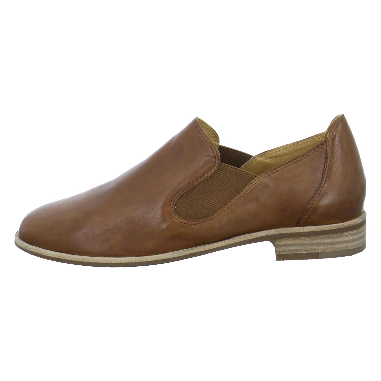 Everybody Damen Schuhe Slipper Halbschuhe Braun Leder