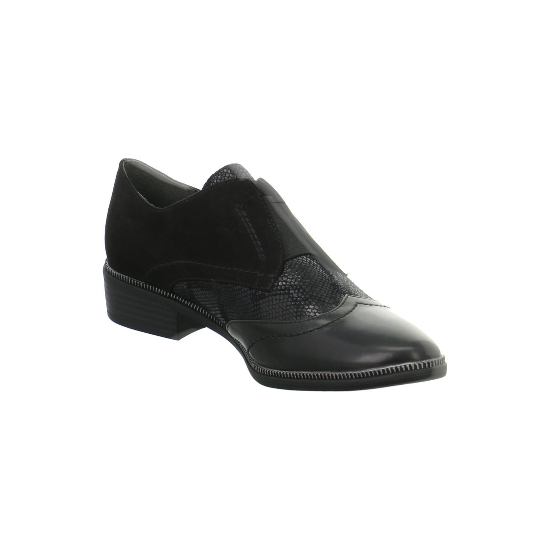 tamaris damen schuhe slipper halbschuhe schwarz elegant phanie ebay. Black Bedroom Furniture Sets. Home Design Ideas