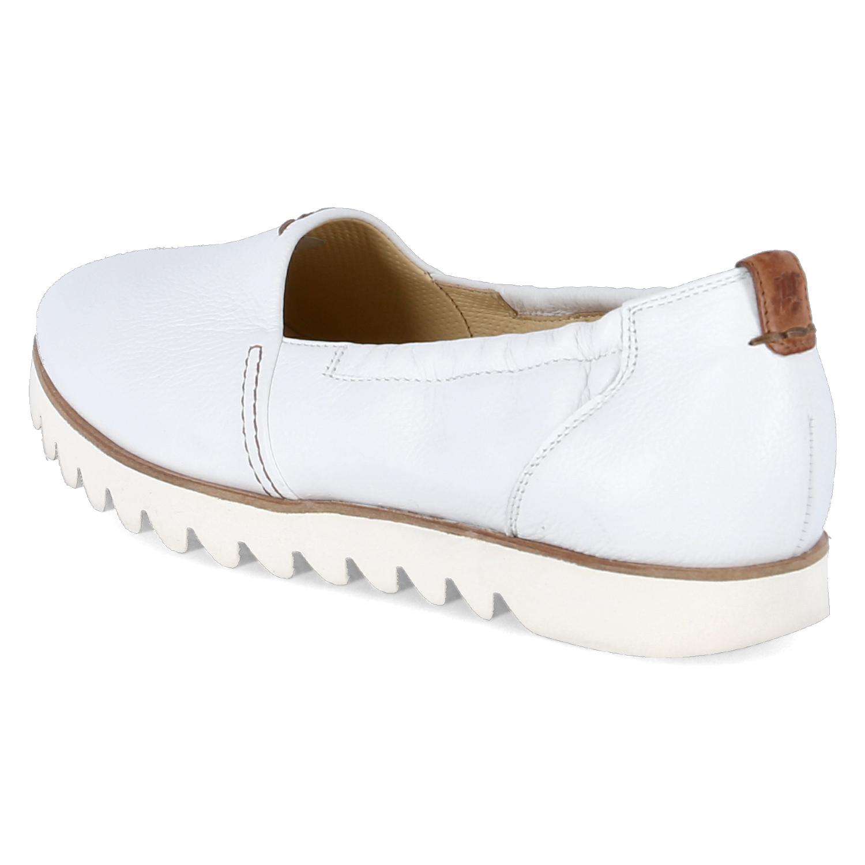 Paul Grün sportlich Damen Schuhe Slipper Weiß sportlich Grün 1a7fa7