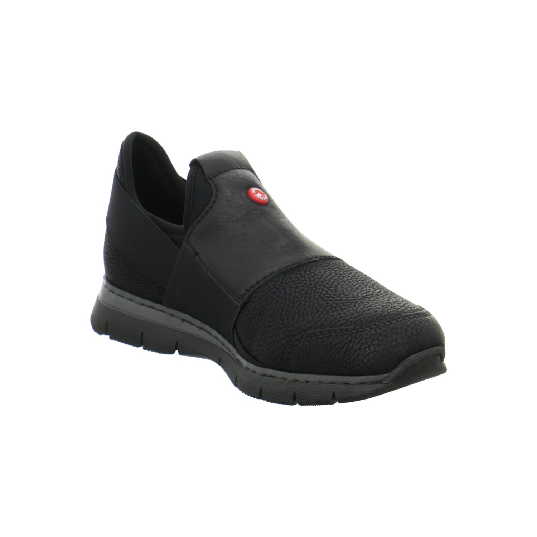 rieker damen schuhe sneaker slipper schwarz freizeit sport. Black Bedroom Furniture Sets. Home Design Ideas