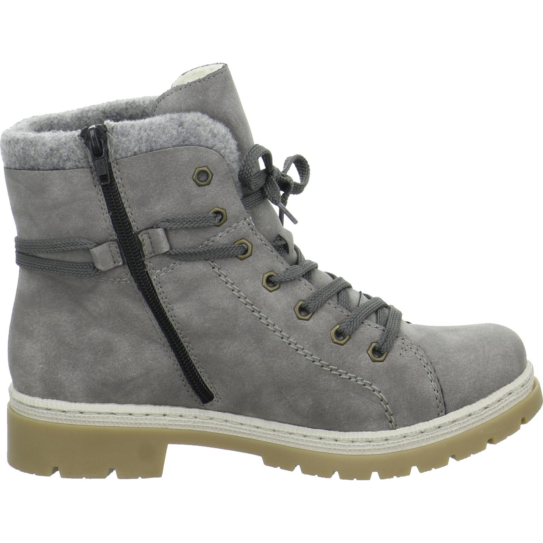 Rieker Damen Stiefel Grau Warm Warm Warm Synthetik 776d90