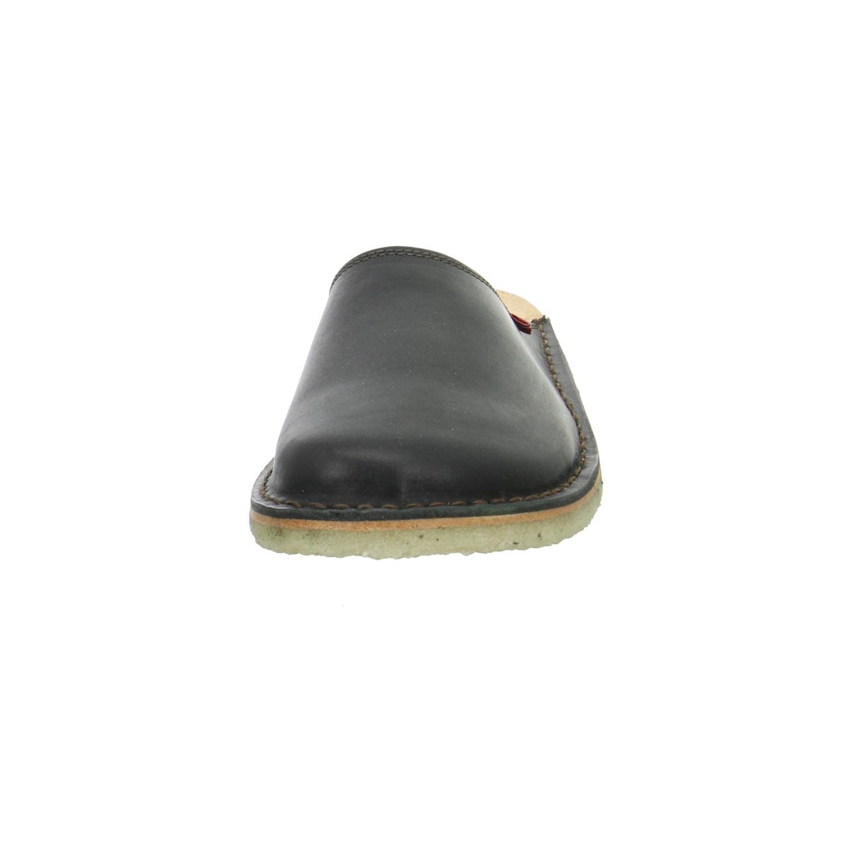 duckfeet blavand damen pantoletten clogs leder schwarz. Black Bedroom Furniture Sets. Home Design Ideas