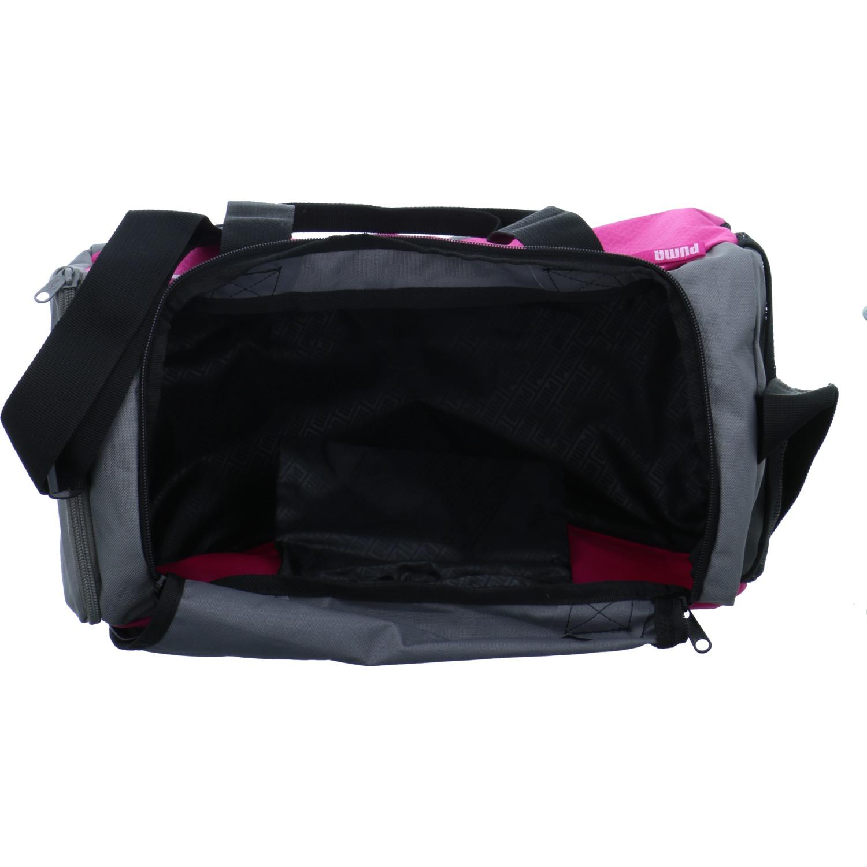 e902ea4f076fd Puma Damen Sporttasche Fundamentals Sports Bag XS Grau-Pink Textil 3 3 von  6 Siehe Mehr