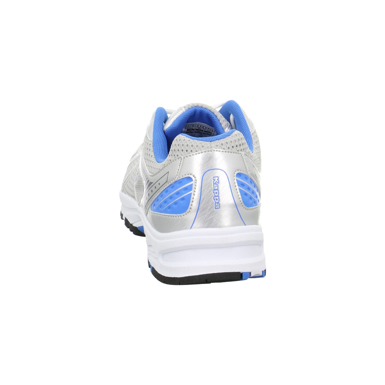 SALE -40% Kappa RUN ZELSER Herren Sport Freizeit Schuhe Silber NEU