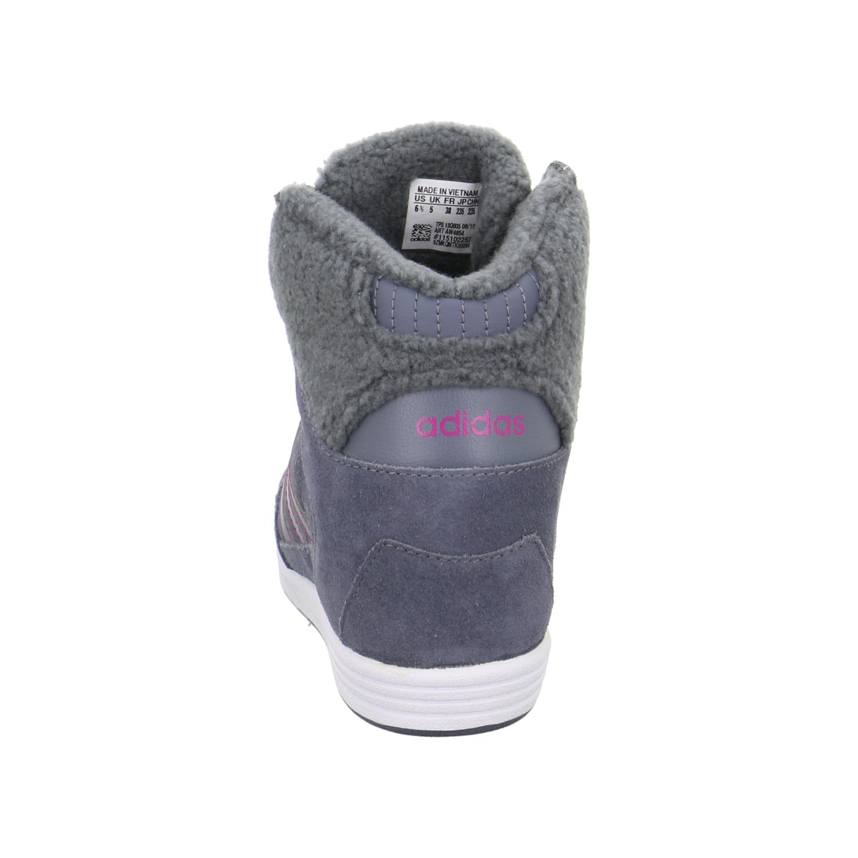 neu sale adidas super wedge w damen sneaker materialmix grau aw4854 000 ebay. Black Bedroom Furniture Sets. Home Design Ideas