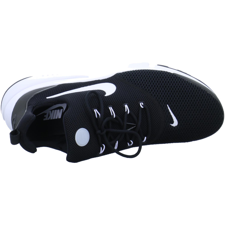 Nike Herren Schuhe Sneaker Low Schnürer Presto Fly Schwarz Weiß Schnürer Low Sport Training 6e33de